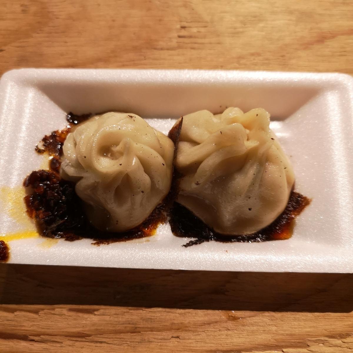 カレー事情聴取スパイス定食&バルVol.7 2019年10月20日 台湾食堂 焼小籠包