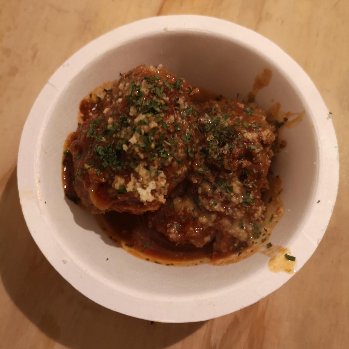 カレー事情聴取スパイス定食&バルVol.7 2019年10月21日 はらいそSparkle 煮込みハンバーグ