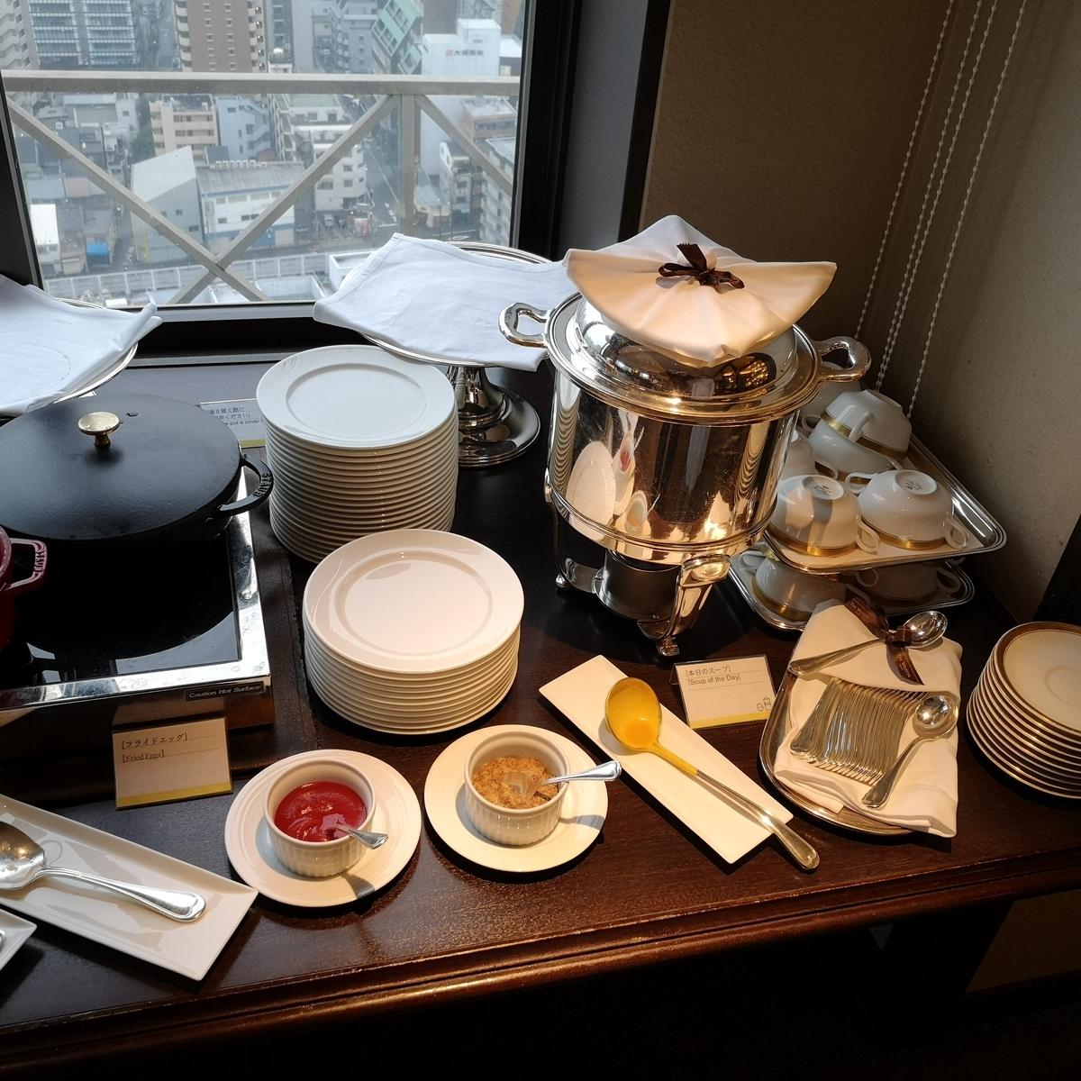 ウェスティンホテル大阪 エグゼクティブラウンジ 朝食