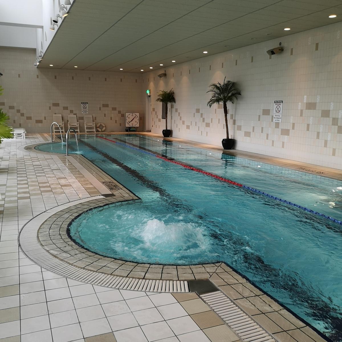 ウェスティンホテル大阪 フィットネス プール