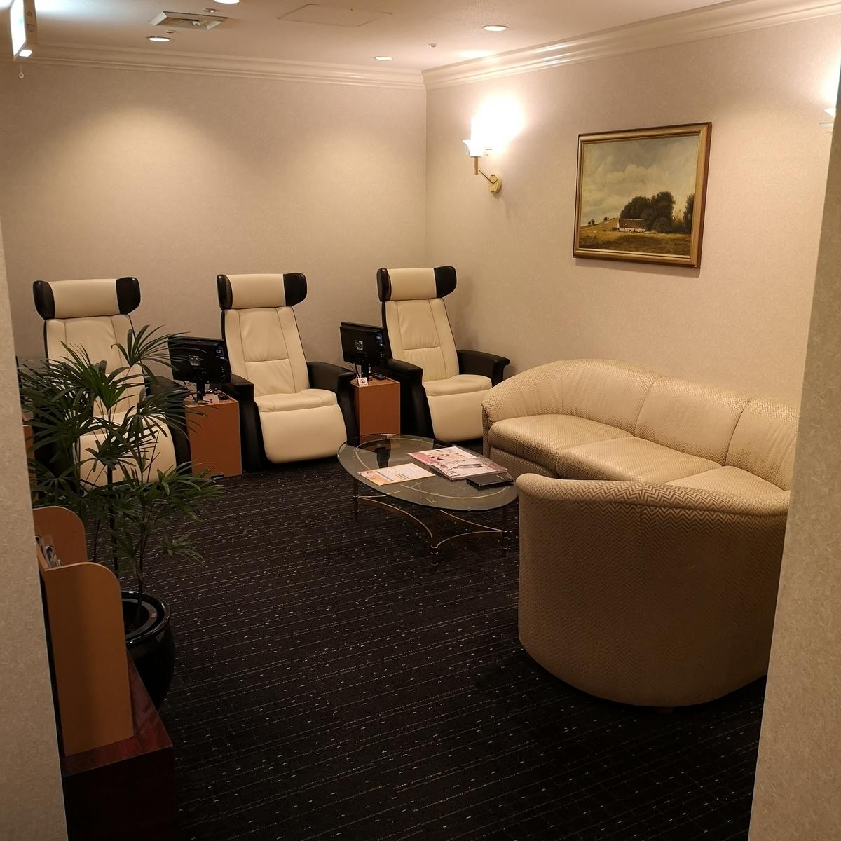 ウェスティンホテル大阪 フィットネス レストルーム