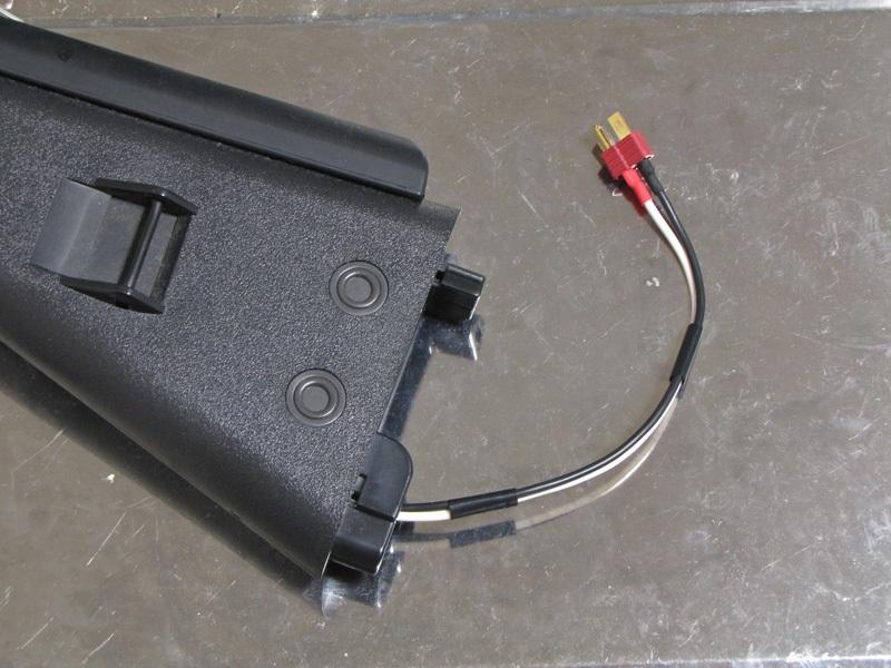 バッテリー接続配線