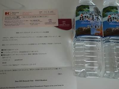 ボトルの水