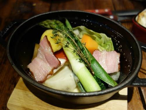 ビストロボン野菜蒸し
