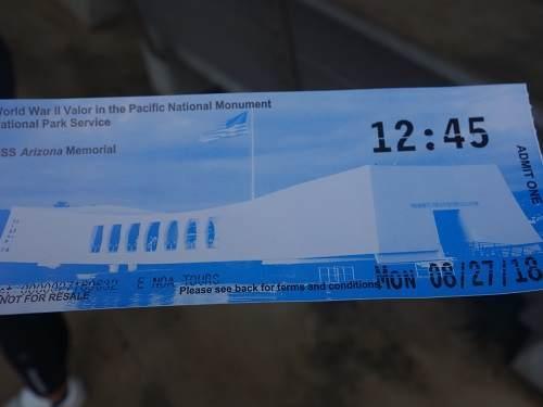 アリゾナメモリアルチケット