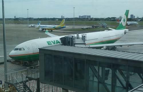 エバー航空機体