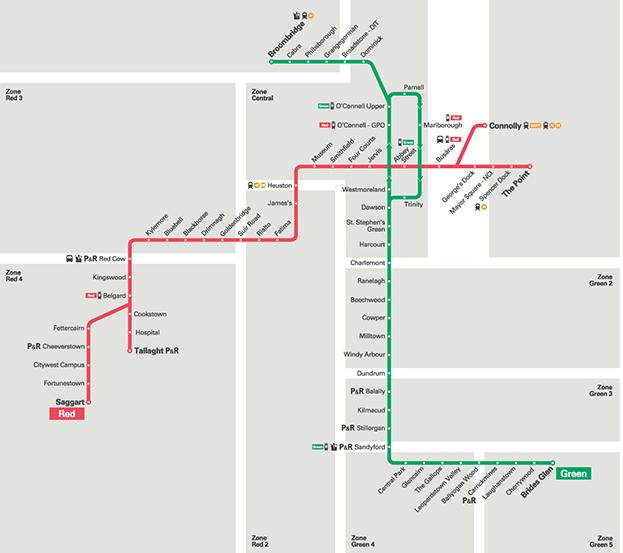 ルアス路線図