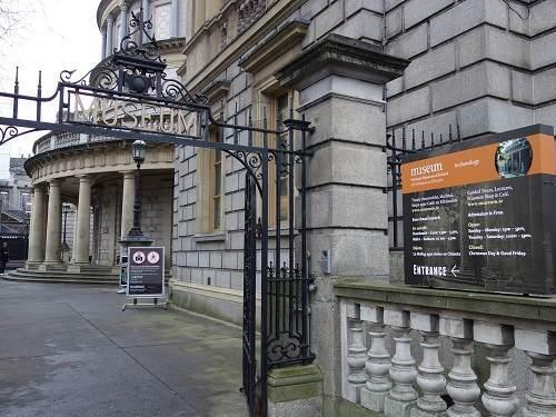 アイルランド国立博物館入り口