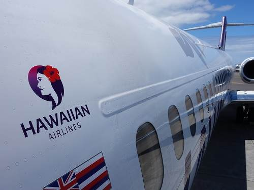 ハワイアン航空機体