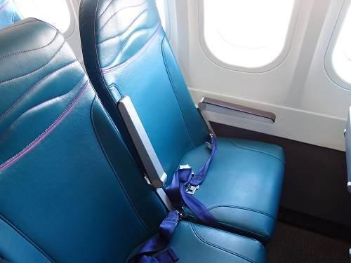 ハワイアン航空座席