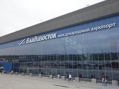 ウラジオストク空港外観
