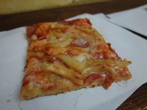 ポテトのピザ