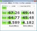 VAIO type P SSD64GBモデル ベンチマーク結果