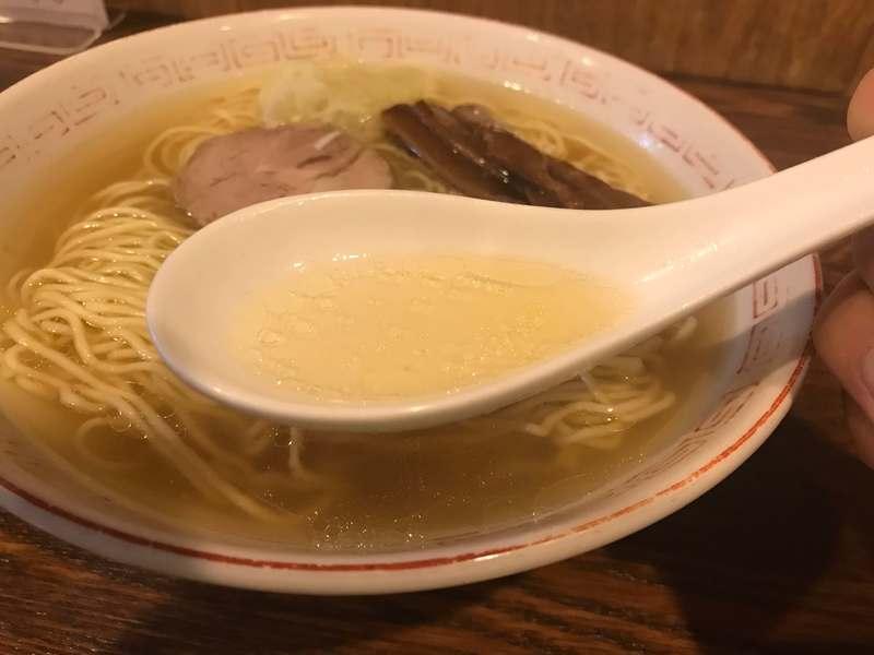 中華そば さとう スープ