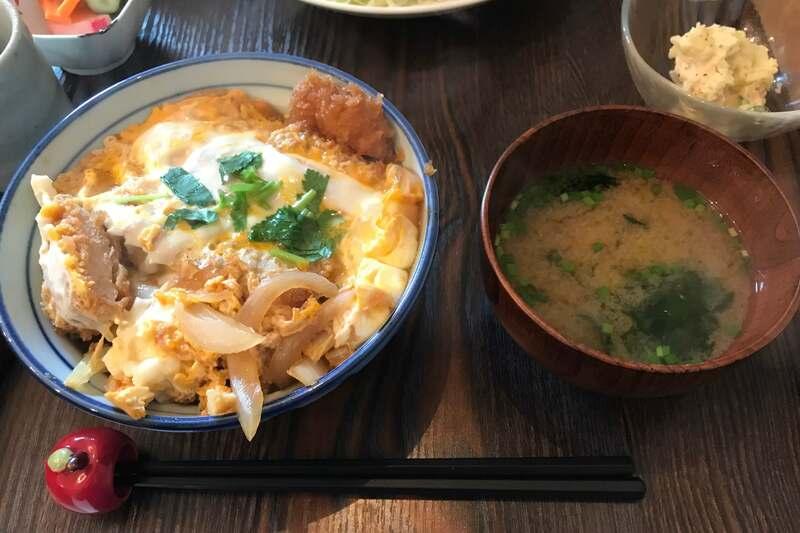 デルタ食堂 カツ丼定食