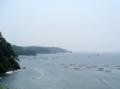 [牡蠣][風景][気仙沼][三陸][リアス][森][海][森は海の恋人][牡蠣]リアスの海岸線(舞根より外海を望む)