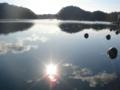 [牡蠣][風景][気仙沼][三陸][リアス][森][海][森は海の恋人][牡蠣]水鏡(舞根湾)