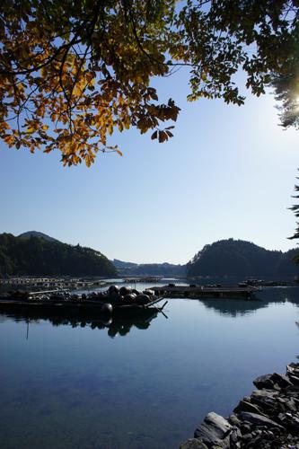 海辺の秋(舞根湾)