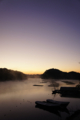 [風景][リアス][三陸][秋][空]明ける空(舞根)