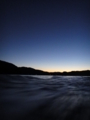 [風景][気仙沼][三陸][リアス][森][海][夕景]夕景(大島瀬戸から気仙沼湾を望む)