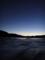 夕景(大島瀬戸から気仙沼湾を望む)