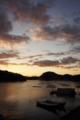 [牡蠣][風景][気仙沼][三陸][リアス][森][海][森は海の恋人][牡蠣][夜明け]冬、明ける前(舞根湾)