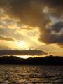 [風景][気仙沼][三陸][リアス][森][海][夕日]大島瀬戸の夕日