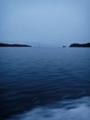 [海][大島][三陸][気仙沼]大島瀬戸より外洋を望む