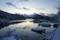 雪の朝(舞根湾)
