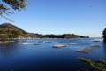 [風景][気仙沼][三陸][リアス][森][海]銚子口より唐桑瀬戸を覗く(左:早馬山、右:銚子口)
