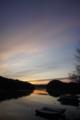 [風景][気仙沼][三陸][リアス][森][海]新春の夜明け(舞根湾)
