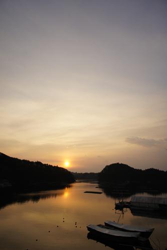 夜明け(舞根湾)