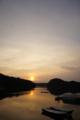[風景][リアス][三陸][冬][空]夜明け(舞根湾)