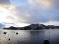 [風景][気仙沼][三陸][リアス][森][海][雪]大島(大島瀬戸より)