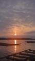 [風景][気仙沼][三陸][リアス][朝][海][朝]日の出(唐桑瀬戸)