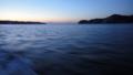[風景][気仙沼][三陸][リアス][森][海]夜明け前(唐桑瀬戸)