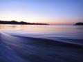 [風景][気仙沼][三陸][リアス][森][海]夜明け(唐桑瀬戸)