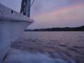 [風景][気仙沼][三陸][リアス][森][海][春]早春の暮れ(大島瀬戸)