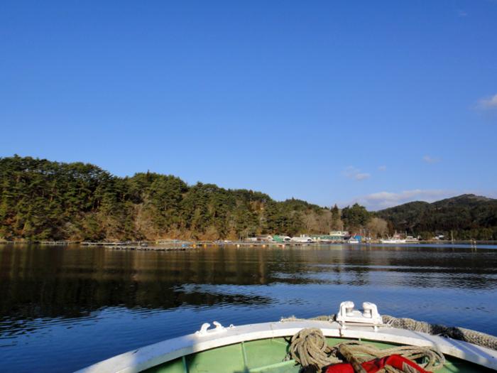 鉄色の海(舞根湾)