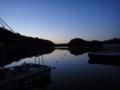 [風景][気仙沼][三陸][リアス][森][海][春]薄氷(舞根湾)