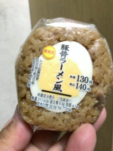 デイリーヤマザキ 豚骨ラーメン風