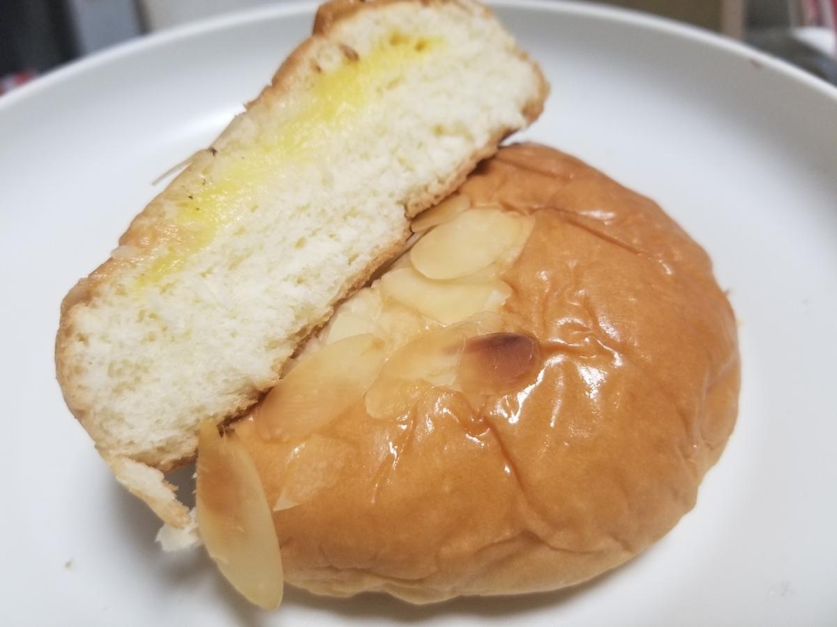 ヤマザキ ブリオッシュ カスタードクリームパン