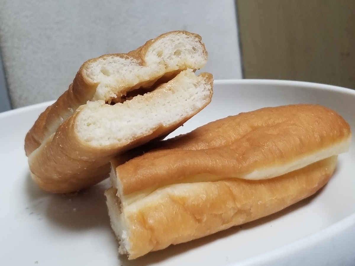セブンイレブン きなこホイップあげパン