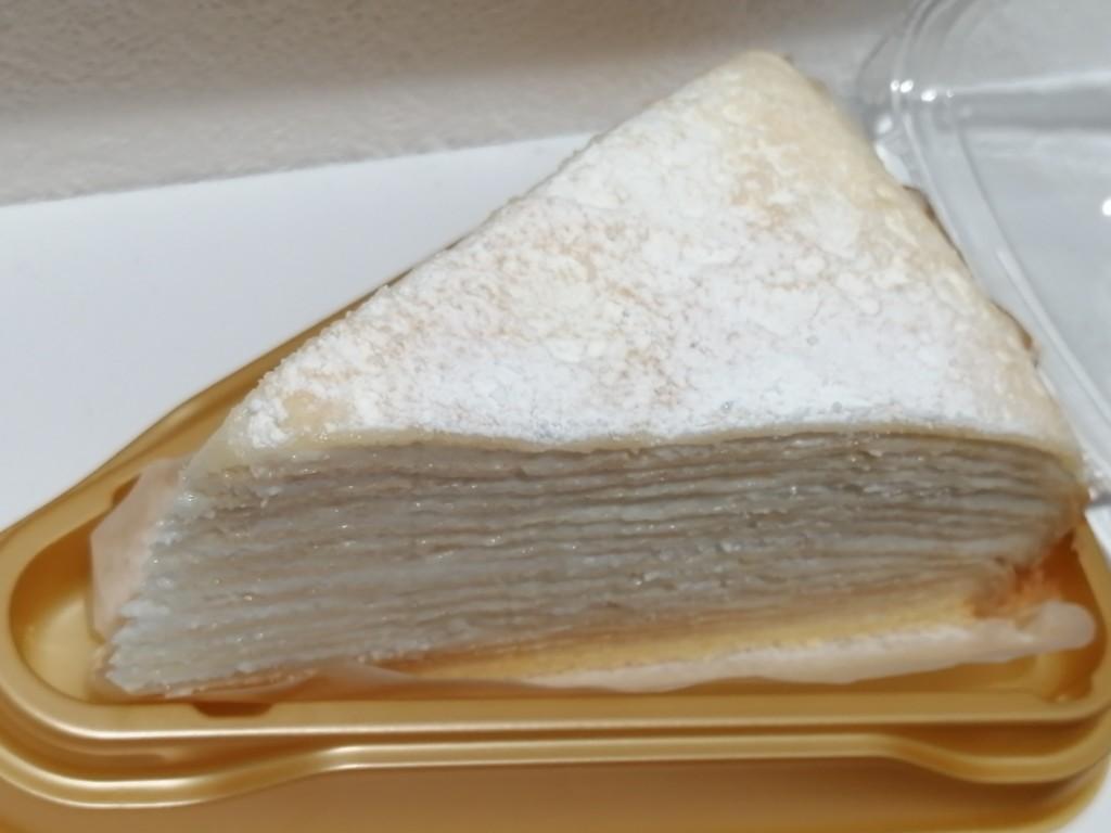 セブンプレミアム レアチーズミルクレープ