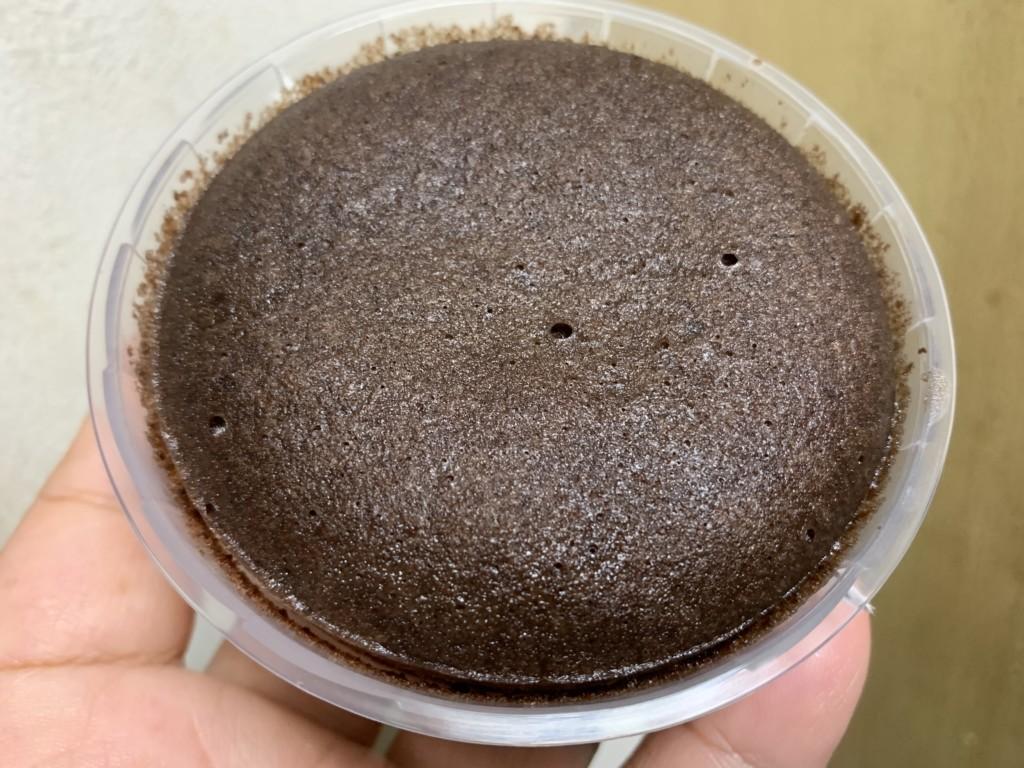 ヤマザキ ベルギーチョコ蒸しケーキのとろけるプリン