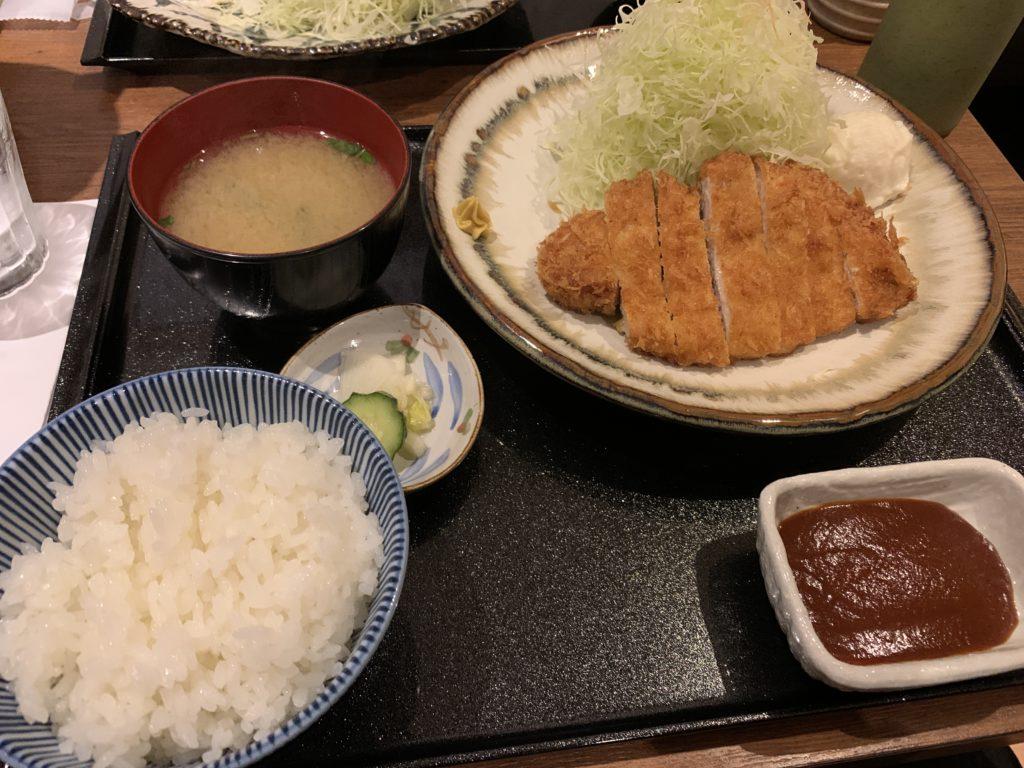堺筋本町 KATSU華 ロースカツ