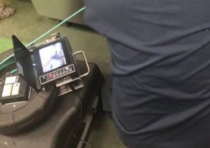 管内カメラを使用