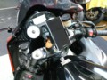 ZZR1400 携帯ホルダー装着