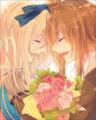 イーブイ♂麗とご主人のキャロル