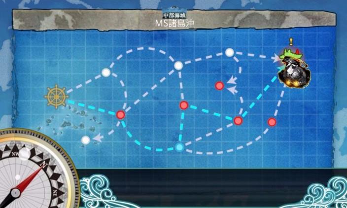 任務「洋上航空戦力を拡充せよ!」の6-2 1